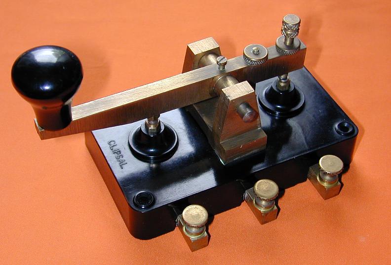 Australian Clipsal Morse Key